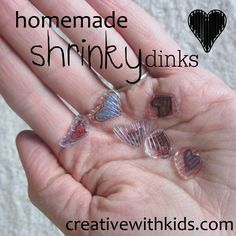 Homemade Shrinky Dinks from Recycled Plastic - can't see the pics, but good info regarding plastic categories