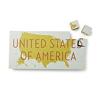 Want to make my own blocks! See special non-toxic stuff in Amazon wish list. UNITED STATES OF AMERICA BLOCK SET|UncommonGoods