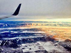 Flying over Utah