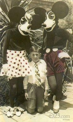 What nightmares are made of:  Minnie and Mickey Mouse - 1930s
