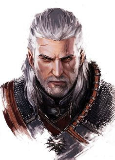 The witcher 3 Wild Hunt Art Silk Fabric Poster Huge Print Game Geralt Cirilla Yennefer Picture for Wall Decor 50 The Witcher 3, Witcher Art, Witcher 3 Wild Hunt, Witcher 3 Geralt, Character Portraits, Character Art, Witcher Wallpaper, Yennefer Of Vengerberg, Video Game Art