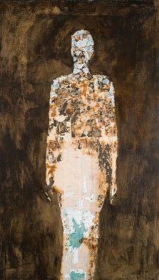 "design silhouette w/collage; Map Fragment Figure"" by Raine Bedsole 70 x 40 inches mixed media. Mixed Media Collage, Art Journal Inspiration, Map Art, Figure Painting, Artist Art, Art Techniques, Figurative Art, Female Art, Sculpture Art"