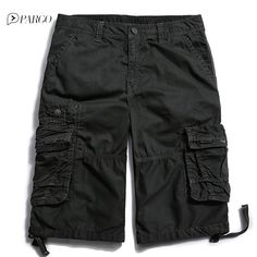 New Arrival Casual Pure Cotton  High Quality Loose Mens Shorts Big Size 3288