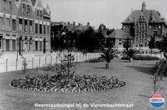 Rotterdam: De Heemraadssingel bij de Vierambachtstraat omstreeks 1934
