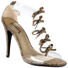Glitzer High Heels Pumps Silver Grau Gr 39, € 7, (4040