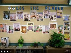 Guess the reader.  Students have to guess which teacher read these books. Best guesses win a book.
