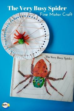 The Very Busy Spider Craft by Kidz Activities