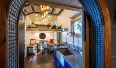 Vue Cuisine Salon Bureau