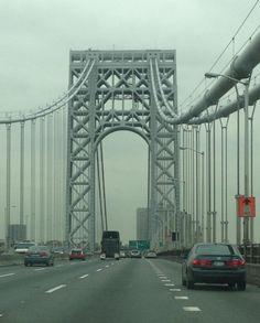 George Washington Bridge, NY via Ben Pai on Facebook 20121026