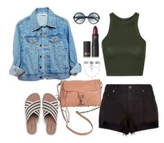 """""""Get In We're Going Shopping"""" by lovekaitlin ❤ liked on Polyvore featuring Rebecca Minkoff, rag & bone, High Heels Suicide, Topshop, Lands' End, Tom Ford, Lipstick Queen and New Look"""