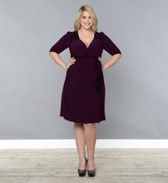 JULIEANNE WRAP DRESS      JULIEANNE WRAP DRESS    This Dress is every bit Classy !! Love it!!