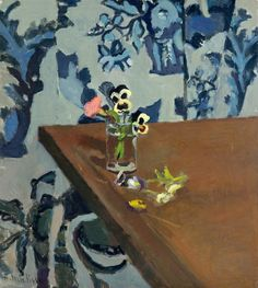 Henri Matisse, Pansies on a Table, c. 1903