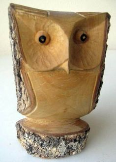 wood carving patterns for beginners Wood Carving Designs, Wood Carving Patterns, Whittling Projects, Wood Projects, Woodworking Projects, Chainsaw Wood Carving, Carving Wood, Wood Owls, Deco Nature