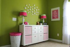 ikea white pink kallax
