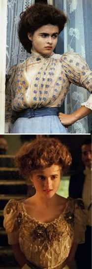 'A Room With A View' (1985). Helena as Lucy Honeychurch. Costume Designers: Jenny Beavan	& John Bright