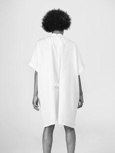 women's deconstructed shirt