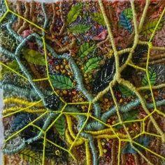 ... Textile Texture, Textile Fiber Art, Textile Artists, Pop Design, Embroidery Art, Embroidery Stitches, A Level Textiles, Textiles Techniques, Contemporary Embroidery
