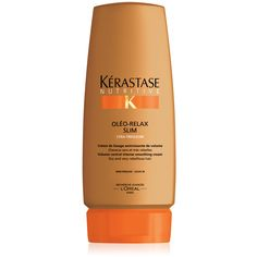 Kerastase Creme Oleo-Relax Slim ... A smoothing creme that offers intense volume reduction for thick, dry, rebellious hair.