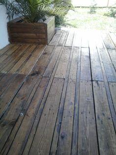 Terrasse En Palette / Pallet Terrace Deck Terraces & Patios