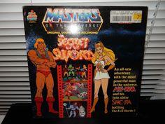 #MOTU Masters Of The Universe: Secret Of The Sword Original Soundtrack Recording LP #SoundtrackCartoon