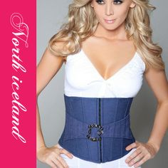 Cheap sexy women corset, Buy Quality underbust corset directly from China corset underbust Suppliers: Wholesale Sexy Lingerie Sexy Women's Corset Underbust Corset Denim Waist Cincher Blue Corset Underwear, Blue Corset, Corset Pattern, Underbust Corset, Waist Cincher, Female Bodies, Sexy Lingerie, Camisole Top, Sexy Women