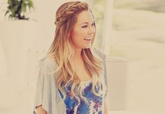 Wish my hair could look that thick with that braid!...
