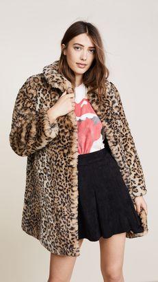 Shop Now - >  https://api.shopstyle.com/action/apiVisitRetailer?id=671249763&pid=uid6996-25233114-59 alice + olivia Kinsley Faux Fur Coat  ...