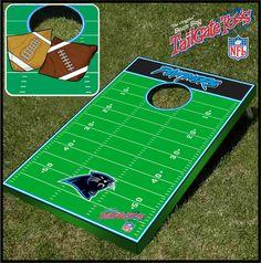 Carolina Panthers NFL Tailgate Cornhole Bean Bag Toss