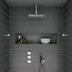 Discover rustic to modern tiling patterns with the top 60 best grey bathroom tile ideas. Explore neutral interior wall and floor designs. Grey Bathrooms Designs, Modern Bathroom Design, Bathroom Interior Design, Grey Bathroom Furniture, Modern Furniture, Outdoor Furniture, Neutral Bathroom Tile, Masculine Bathroom, Bathroom Colours