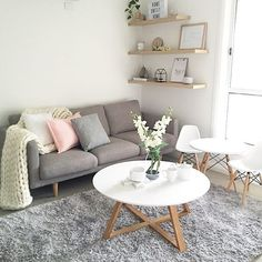 Kitchen decor kmart: home decor images gallery living room decor ideas kmar Home Living Room, Apartment Living, Living Room Designs, Living Room Furniture, Furniture Plans, Kids Furniture, Living Room Decor Kmart, Scandi Living Room, Kmart Home