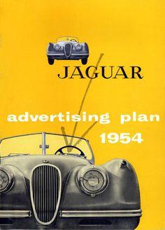 1954 Jaguar Ad