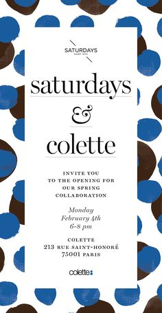 Saturdays Surf NYC & Colette