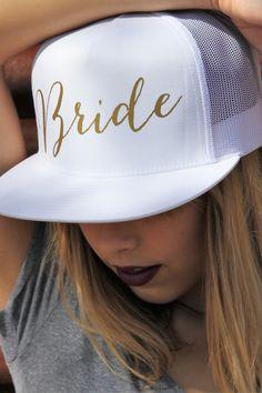 Bride Mesh Snapback Hat