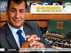 Naciones Unidas nombra a Rafael Correa como el mejor pdte. del mundo