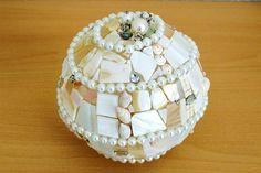 Tischlampe Wohnlicht Mosaik Lampe indirekte Beleuchtung