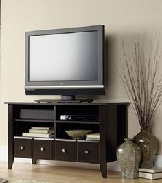 Tv Stand Entertaiment Media Center Home Cabinet Furniture Storage Console Dvd