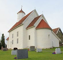 Balke Church, Outer Toten, Norway - Hermann Madson and his parents and his siblings attended here.  The church was originally built in 1170, and was modernized later.