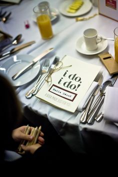 Wedding idea: put together activity books as place cards for the kids. | Mary and Brendon's Wonderful Westminster Hall Wedding by Joseph Hall Photography