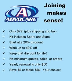 Ask me why you should join and how it will change your life forever! https://www.advocare.com/140170830