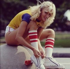 Retro Fashion Roller Skates More - Roller Disco, Roller Derby, Disco Roller Skating, Roller Rink, Pin Up, New Retro Wave, Skate Girl, Pose Reference Photo, 1970s