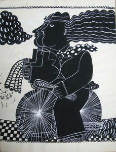 Le tricycle, maquette pour sérigraphie Paris France, Le Tricycle, Greece Painting, Collages, Greek Art, Illustrations, Bing Images, Contemporary Art, Greeks