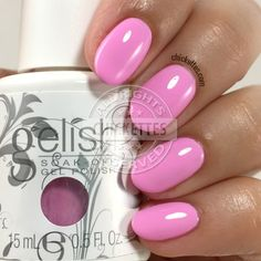 Gelish Cou-tour The Streets - swatch by Chickettes.com