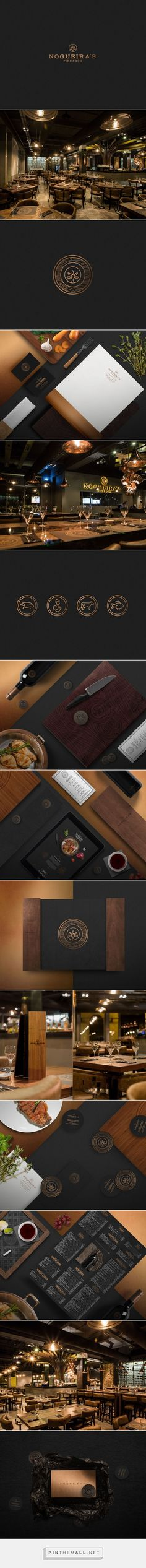 Nogueira's Fire Food Restaurant Branding by Bullseye  | Fivestar Branding Agency – Design and Branding Agency & Curated Inspiration Gallery