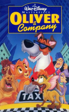 Oliver and Company 1996 with Billy Joel, Joey Lawrence, Bette Midler and Cheech Marin