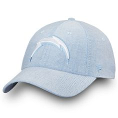 Men s Los Angeles Chargers NFL Pro Line by Fanatics Branded Navy Chambray Fundamental  Adjustable Hat 2eb5a5447