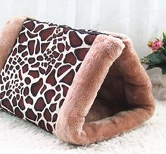 Dog Cockettes Pet Supplies Four Seasons Universal Detachable Pet Cats Cat Sleeping Bag Short Fleece Shirt
