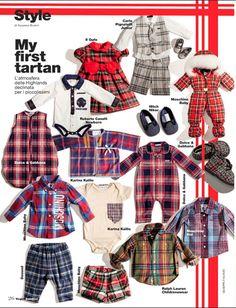 VOGUE BAMBINI Highlights Kallio - Tartan & Camo Trends | KALLIO NYC Sustainable Kids Fashion.