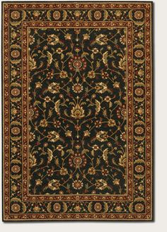 couristan oriental rugs ebony from the royal luxury collection - Couristan Rugs
