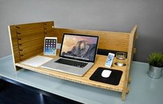 the LIFT Desk is an innovative, adjustable desk from iSkelter that offers a solution for the potential health hazards that come from working at a desk from nine to five everyday.