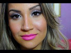 Maquiagem Demi Lovato por Bianca Andrade